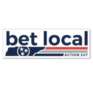 Action247 Decal - Bet Local
