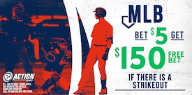 Bet $5 on MLB to win $150